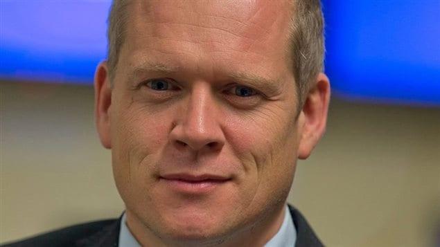 Brian Myles, nouveau directeur du quotidien montréalais « Le Devoir ».