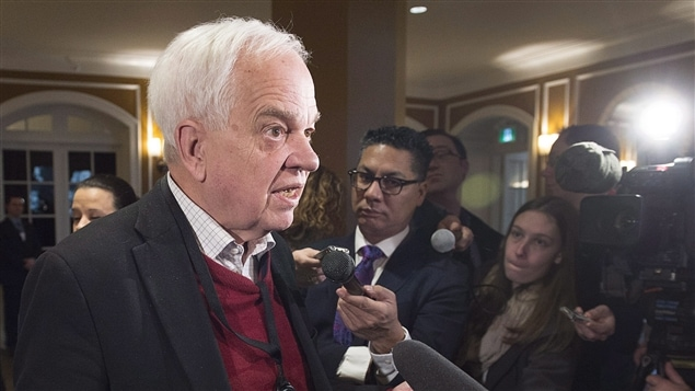 Le ministre de l'Immigration John McCallum