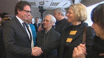 Pierre Karl Péladeau rencontre Mireille Jean