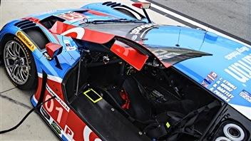 Le cockpit de la Ford de Chip Ganassi à Daytona