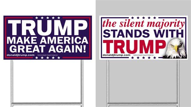 Les slogans de la campagne de Donald Trump