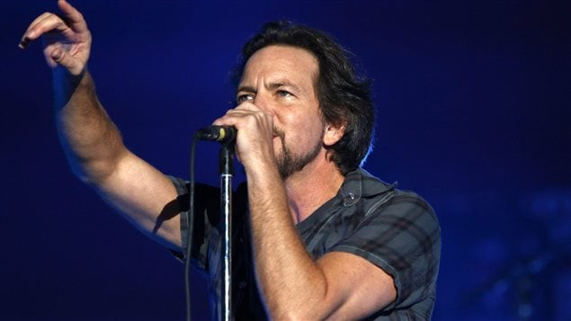 Pearl Jam sera au Centre Vidéotron le 5 mai 2016.