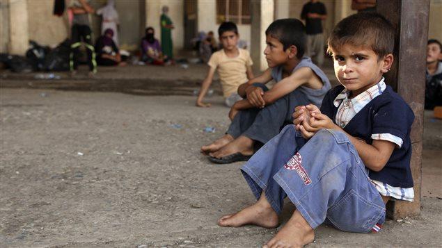 Les violences du groupe armé État islamique ont forcé des milliers de Yézidis à fuir leurs communautés. Le pays compte en tout 3,2 millions de personnes déplacées (archives).