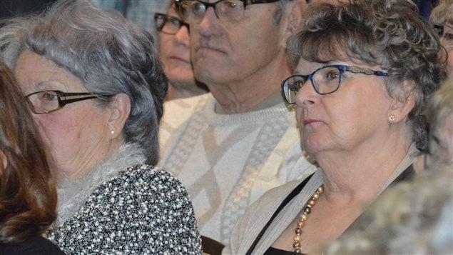 Élise Gauthier, à droite, songe à se présenter à l'investiture du Parti québécois dans Chicoutimi