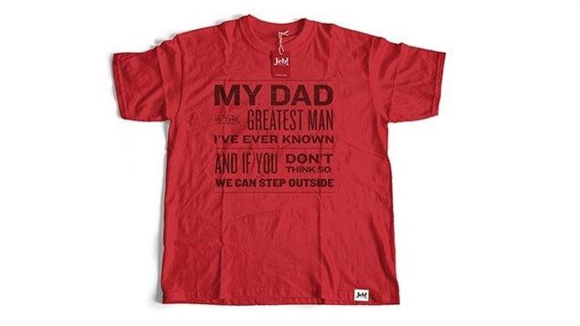 Un t-shirt vendu sur le site de Jeb Bush