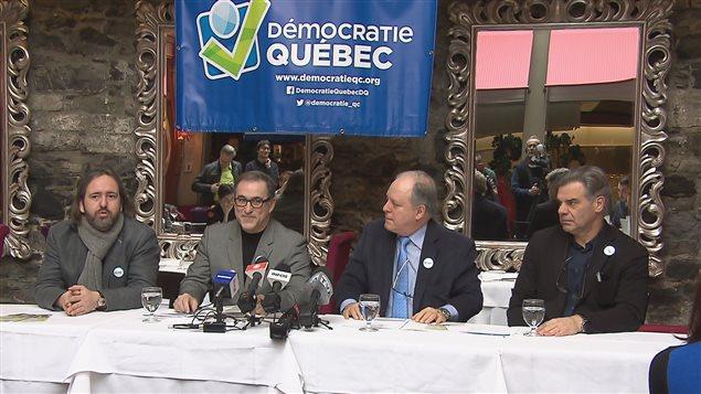 Démocratie Québec élira son nouveau chef le 3 décembre prochain.