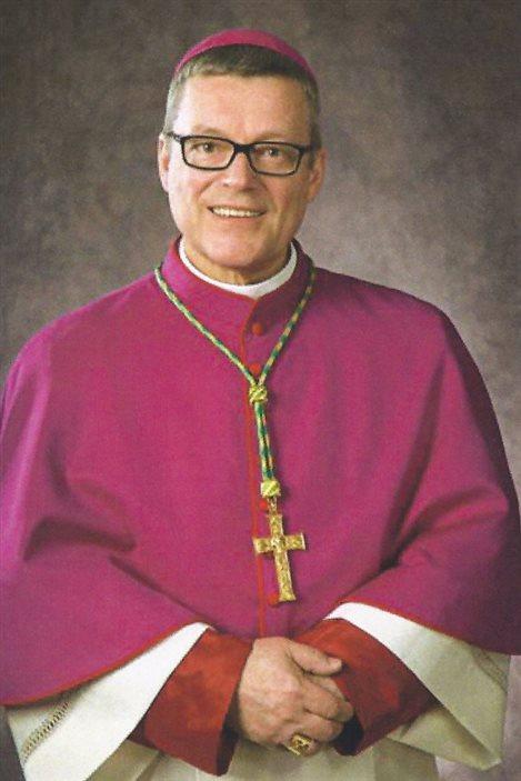 L'évêque Paul Terrio, du diocèse de Saint Paul en Alberta.