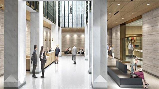 Le design du centre d'accueil du parlement est approuvé par la CCN.