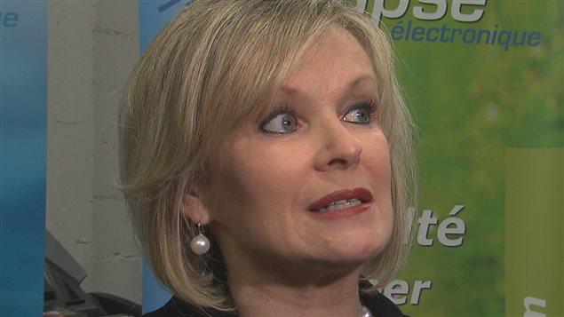 La députée de Laviolette, Julie Boulet