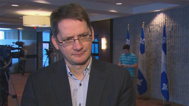 Le député de Jonquière Sylvain Gaudreault