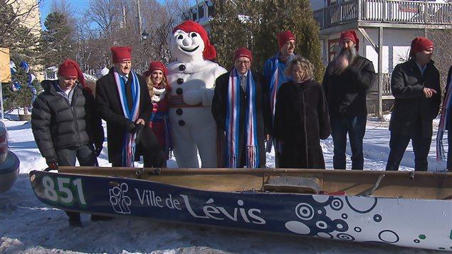 Des activités se tiendront à Lévis durant le Carnaval en présence du Bonhomme.