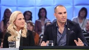 Étienne Boulay et Marie-Soleil Dion