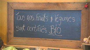 Fruits et légumes biologique