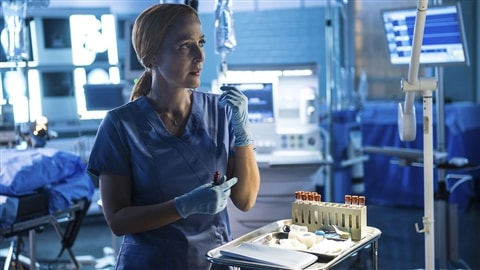 Gillian Anderson dans «The X-Files»