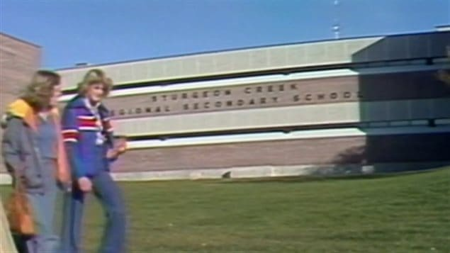 Fusillade à l'école Sturgeon Creek Collegiate en 1978