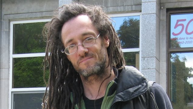 L'artiste Laurent Gagnon