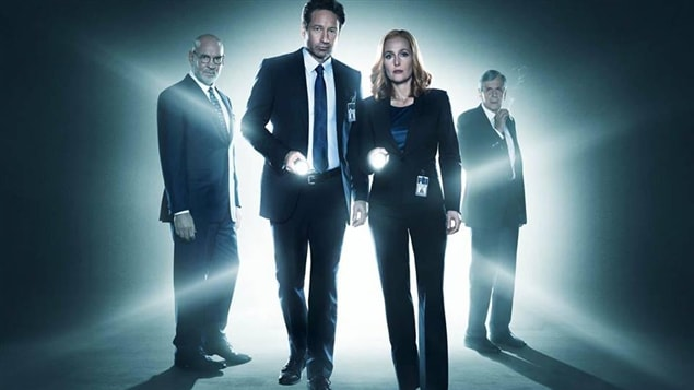 L'émission « The X-Files »