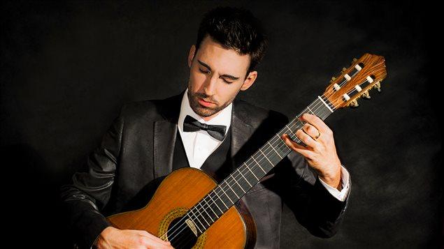 Le guitariste classique Thierry Bégin-Lamontagne