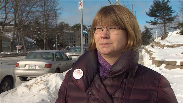 JoAnn Alberstat, représentante syndicale d'employés du Chronicle Herald
