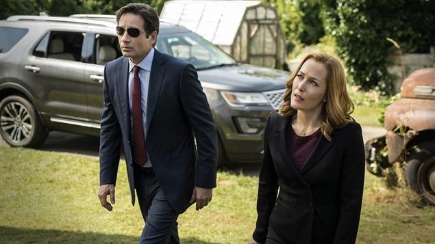 Une scène des nouveaux épisodes des « X-Files »