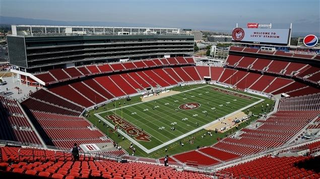 Le stade Levi's, domicile des 49ers de San Francisco