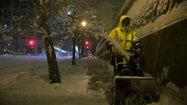 Jusqu'à 70 cm de neige sont attendus à certains endroits.