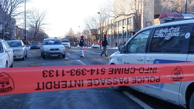 L'accident s'est produit en face du centre communautaire Patro Le Prévot.