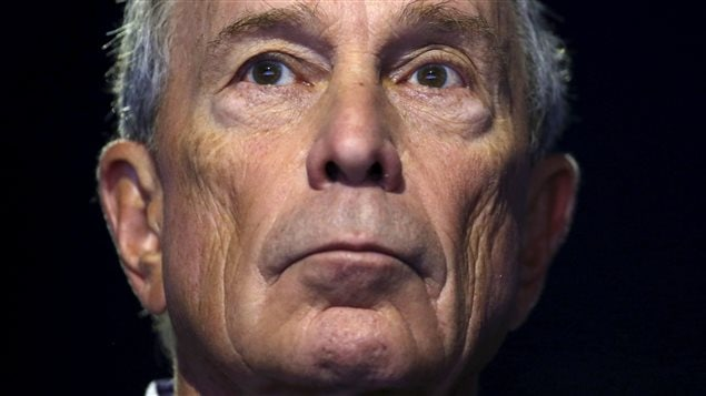 L'ancien maire de New York, Michael Bloomberg