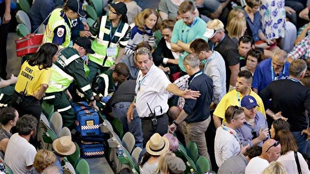 L'entraîneur Nigel Sears victime d'un malaise à Melbourne