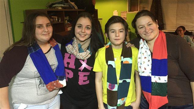 Projet Recyclart, Maison des jeunes du Témiscamingue