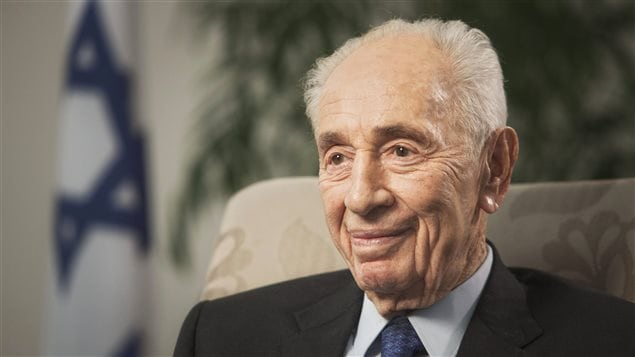 L'ex-président israélien Shimon Peres