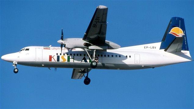 Un avion de la compagnie iranienne Kish Air, photographié en 2002