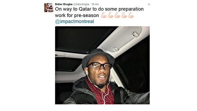 Didier Drogba sur Twitter