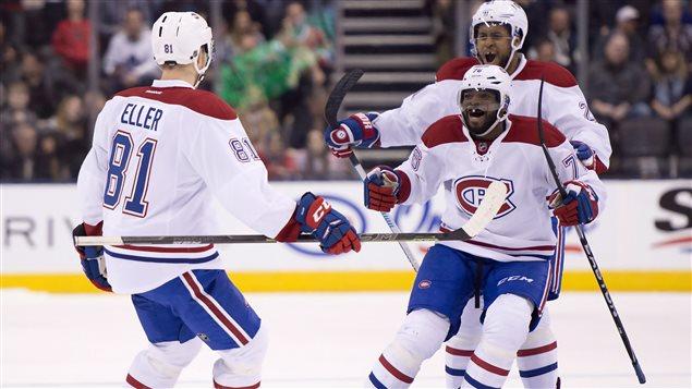 Victoire du Canadien contre Toronto