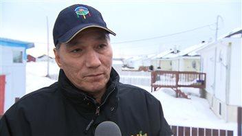 Réal McKenzie, chef de la communauté innue de Matimekush-Lac John