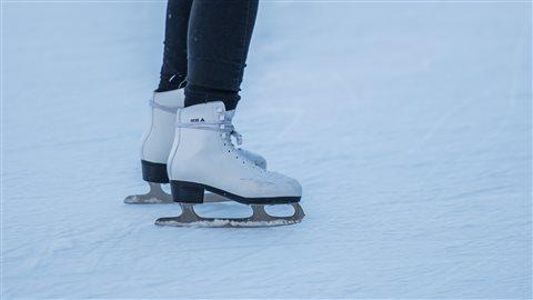 Une partie du canal est ouvert aux patineurs depuis samedi.
