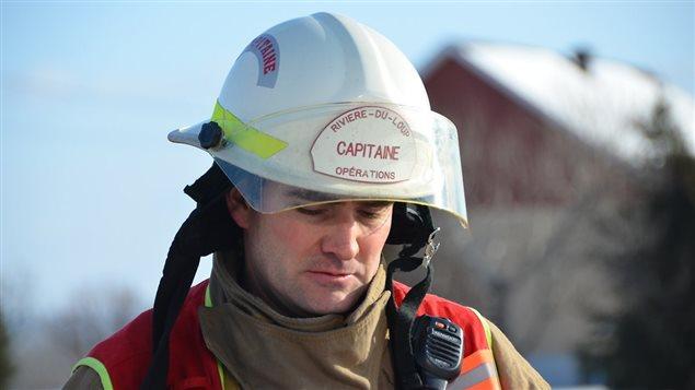 Moïse Mayer, ex-capitaine du service incendie de Rivière-du-Loup