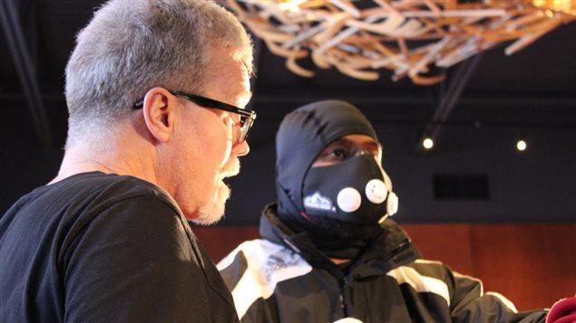 L'entraîneur Freddie Roach avec son protégé Jean Pascal