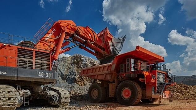 Un chantier de la compagnie minière Eldorado Gold.