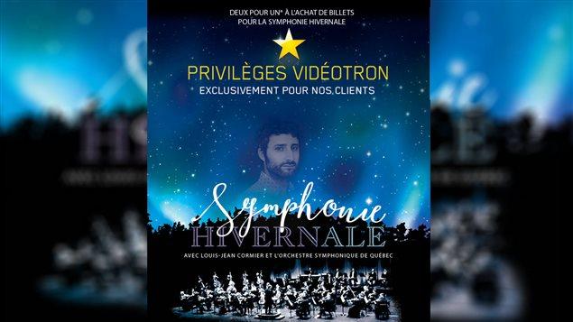 La Symphonie hivernale avec Louis-Jean Cormier ouvrira les festivités du Carnaval de Québec.