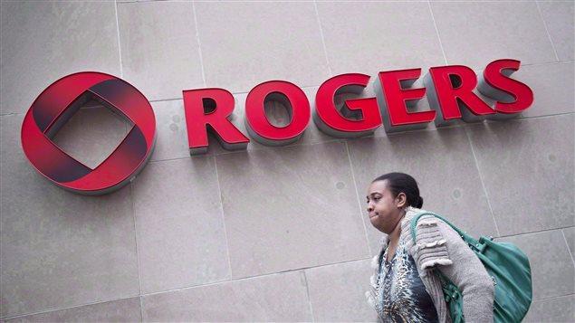L'édifice de Rogers à Toronto.