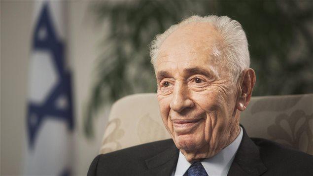 L'ex-président d'Israël, Shimon Peres