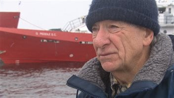 Harvey Adams, capitaine de la Garde côtière à la retraite.
