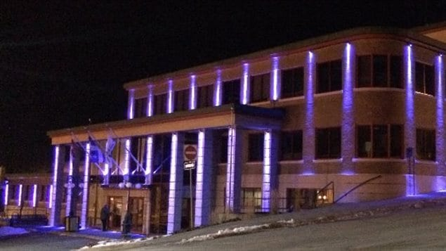 L'hôtel de Ville de Rouyn-Noranda