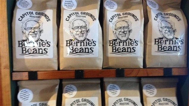 Bernie Sanders a droit à son café...