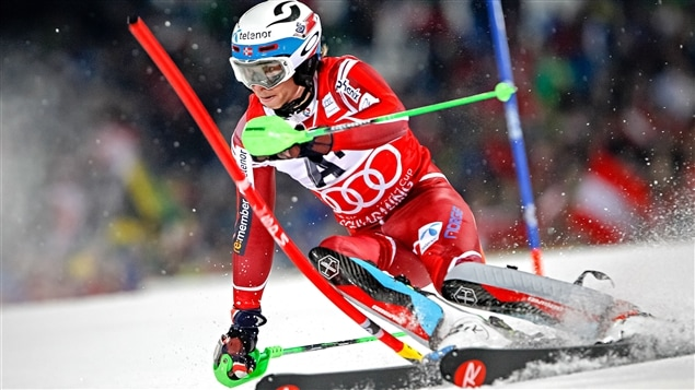 Henrik Kristoffersen remporte le slalom de Schladming