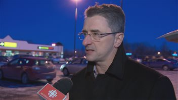 Éric Gosselin, président du syndicat des pompiers de Québec.