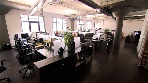 Les bureaux du magazine «Voir» à Montréal