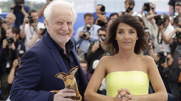 André Dussollier et Florence Foresti à Cannes en mai dernier. Foresti animera la prochaine cérémonie des César, le 26 février