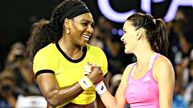 Serena Williams et Agnieszka Radwanska